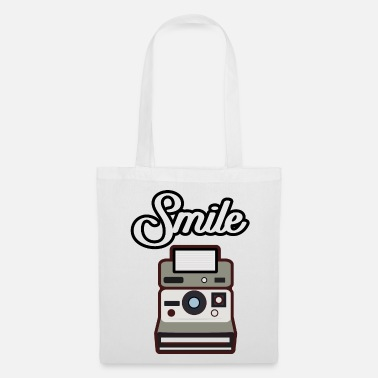 Polaroid Idée cadeau cadeau appareil photo Polaroid Smile - Tote Bag.  Nouveau. Sac en tissu 569a7f36b73c