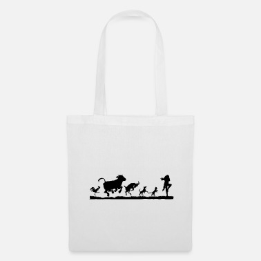 Flute Flute Player - Pied Piper - Tote Bag