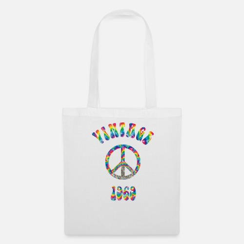 Tote Bag1969 50th Birthday Vintage Hippie Gift Idea