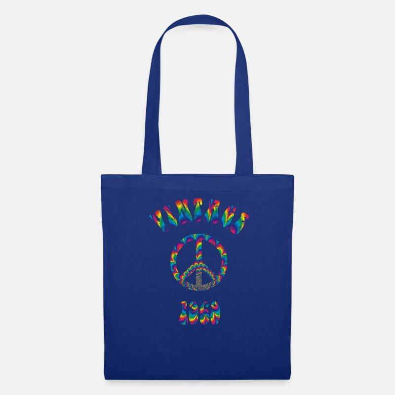 1969 50th Birthday Vintage Hippie Gift Idea Tote Bag