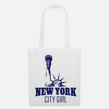New York City NEW YORK CITY GIRL - Stoffbeutel