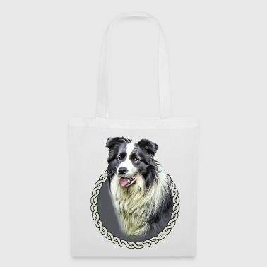 Border Collie 001 - Tote Bag