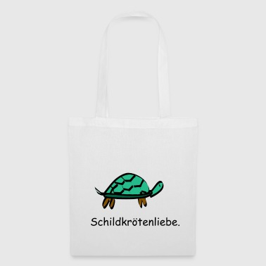 Tortues amour tortues réservoirs amour - Tote Bag