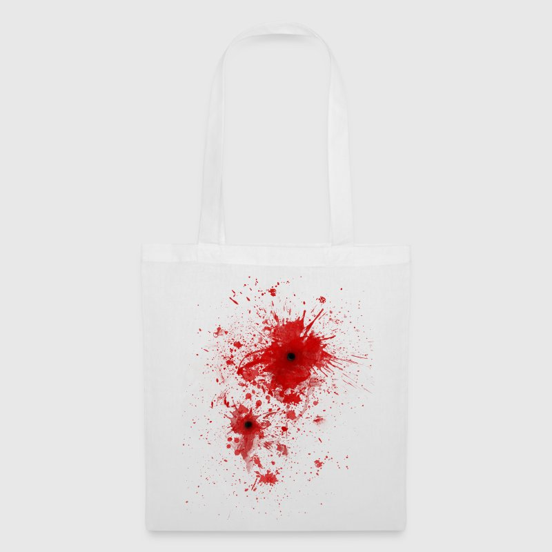 Blood spatter / bullet wound - Costume  - Tote Bag