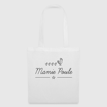 Mamie poule vecto - Tote Bag