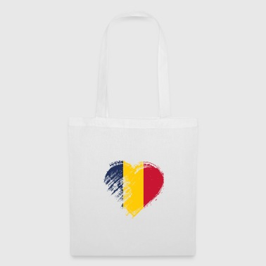 Chad Grungy I Love Chad Heart Flag - Tote Bag