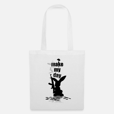 Ratchet Easter Bunny Bunny with Ratchet annoyed mood mood - Tote Bag
