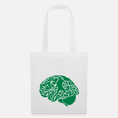 Pingpong pingpong tennis table cerveau brain cerv - Tote Bag
