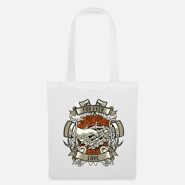 Forever Love, Couples Partner, Love Proof Tattoo - Tote Bag