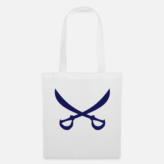 Dinghy Bags & Backpacks - Buccaneer sailing class logo - Tote Bag white