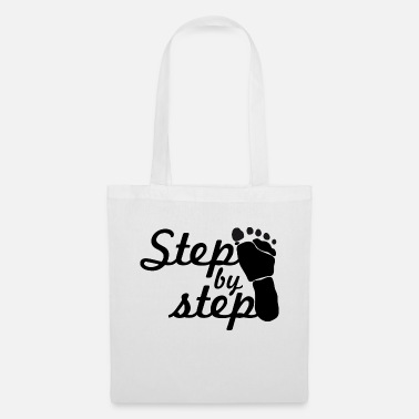 Step step by step - Tote Bag