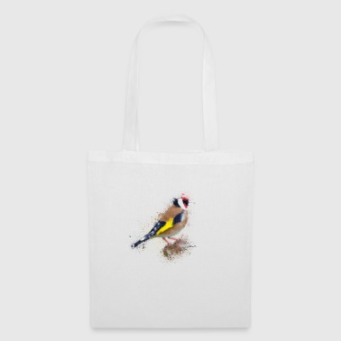 Watercolour Finch - Tote Bag