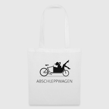 Cargo bike tow truck - Tote Bag