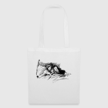 Anxieux Anxieux au lit - Tote Bag