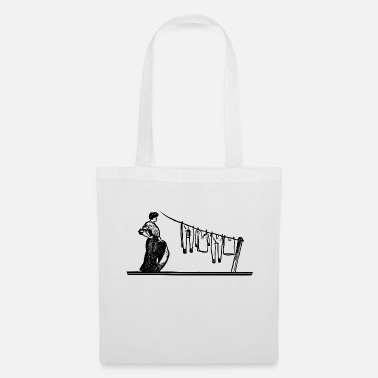 Clean What It Is cleaning cleaning cleaning woman broom wischmop41 - Tote Bag