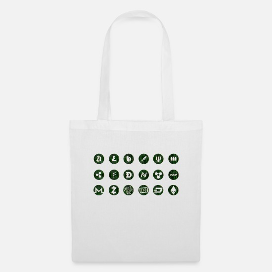 Software Bags & Backpacks - Crypto Currencies - Tote Bag white