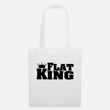 Flat FLAT KING Flat Coated Retrievers - Tote Bag