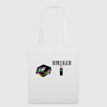Floppy disk against USB - Tote Bag