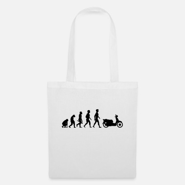 Evolution motorcycle moped motorcycle motorbike evolution9 - Tote Bag