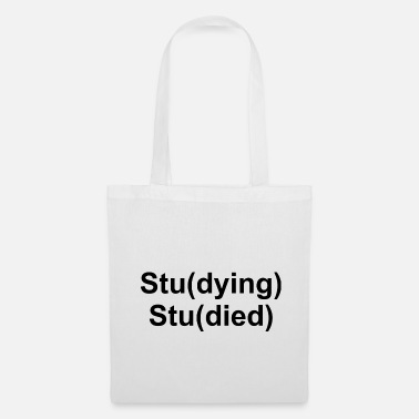 Study Study Studying Studied Graphic - Tote Bag