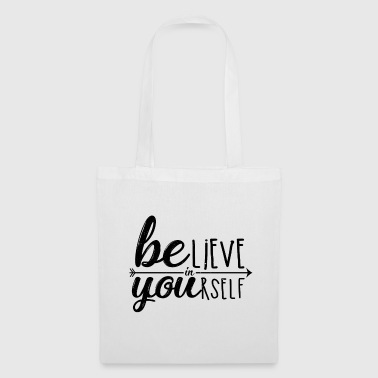 Motivation typography - Tote Bag