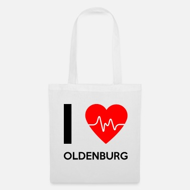 Oldenburg J'aime Oldenburg - I love Oldenburg - Tote Bag