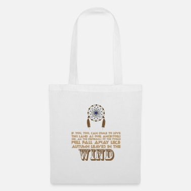 Ancestry Ancestry - Native American proverb - Tote Bag
