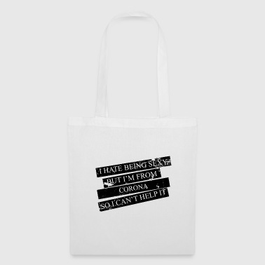 Corona Motive for cities and countries - CORONA - Tote Bag