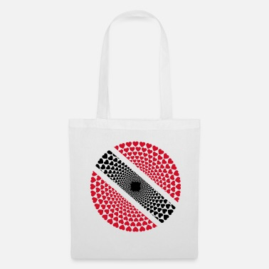 Trinidad And Tobago Trinidad Tobago Trinidad Tobago Love HEART Mandala - Tote Bag
