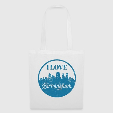 J'aime Birmingham - City Break - Cadeau - Tote Bag