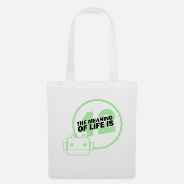 Clapperboard Sense of life 42 pickup galaxy fan gift - Tote Bag