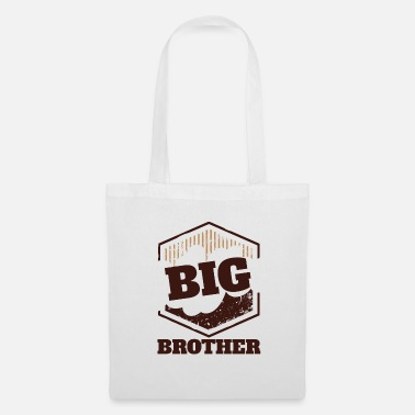 Big Storebror Big Sister Big Brother Big Badge - Tygväska