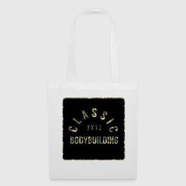 Bodybuilding, fitness, gym, camo-optique - Tote Bag