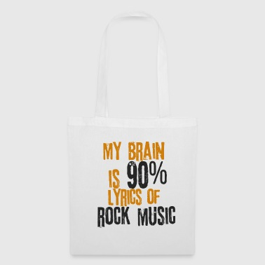 Rock Musique Rock'n Roll Textes Chansons Hard Rock Metal - Tote Bag