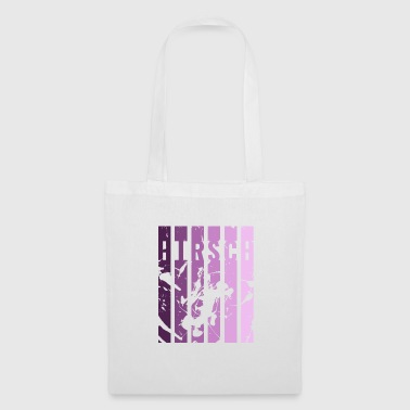 HIRSCH DESIGN PURPLE PINK - Tote Bag