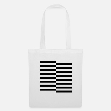 Horizontal Horizontal - Tote Bag