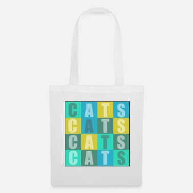 Cat Cats Cats Cats Cats - Tote Bag