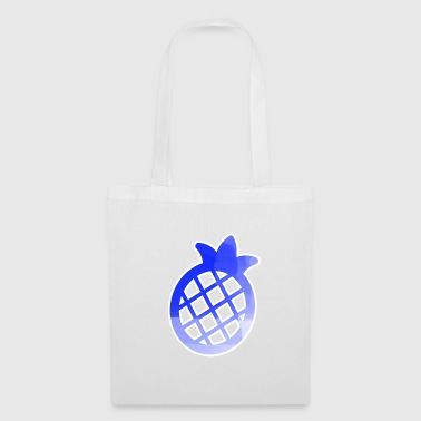 Blue Pineapple Pictogramm Stancel - Tote Bag