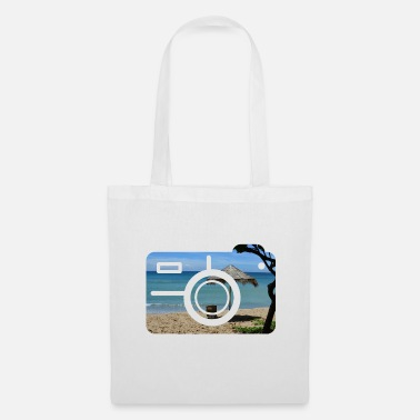Recreational Vacation camera beach recreation - Tote Bag
