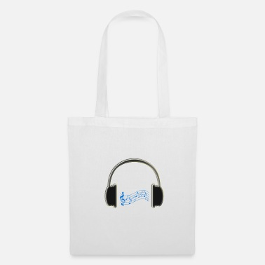 Audio casque audio - Tote Bag