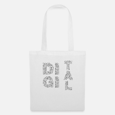 Hacker DIGITAL - The shirt for nerds - Tote Bag