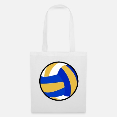 Beachvolleyball Idea regalo beachvolleyball giocatore di pallavolo - Borsa di stoffa