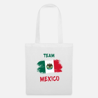 Latino Team Mexico / Gift Mexico Flag - Tote Bag