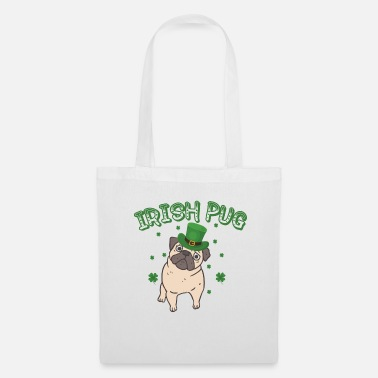 Illustration IRISH PUG - Tote Bag