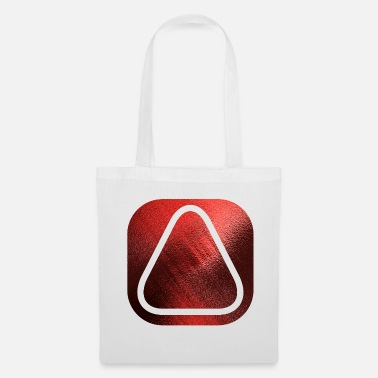 Initial SQUARES VIERECKE RED 20 - Tote Bag