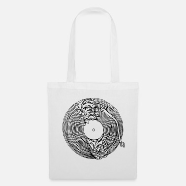 Turntable turntable dissous - Tote Bag