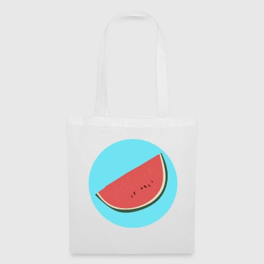 Melon illustration - Tote Bag