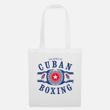 Cuban CUBAN BOXING SPIRIT UTILISÉ LOOK - Tote Bag