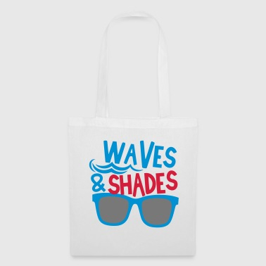 Shade waves and shades - Tote Bag