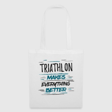 Champion Funny Triathlon Memes Tee Shirt TriathleteGift - Tote Bag